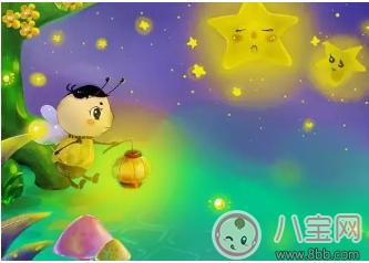 睡前胎教小故事 萤火虫和小星星