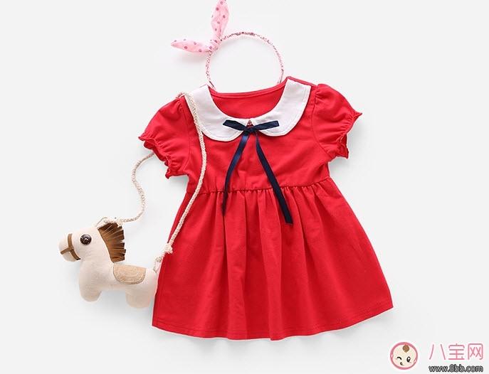 夏天女宝宝裙子搭配 女宝宝夏天穿什么衣服图片