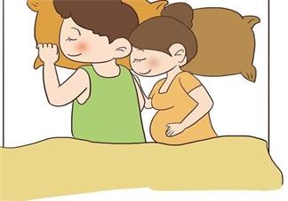 怀孕之后夫妻之间应该怎么睡 怀孕夫妻睡姿推荐