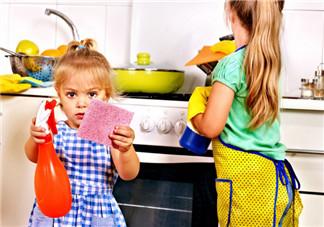 让孩子学会做家务 好处多还益智