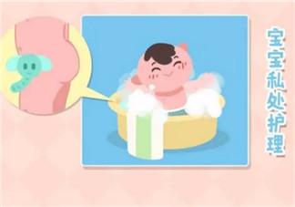 新生儿男宝宝私处清洗图解 男宝宝私处护理注意事项