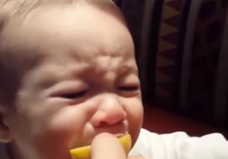 亲子故事 宝宝第一次吃柠檬