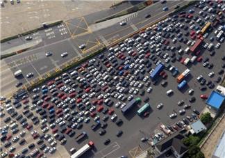 2017国庆节高速堵车时间段 2017十一哪几条高速堵车