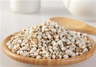 孕晚期能不能吃薏米 孕晚期吃薏米会催产吗