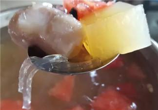 舌尖3石花膏做法 舌尖上的中国3石花膏在家怎么做