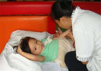 小儿推拿手法图解 孩子生病后推拿具体手法分享