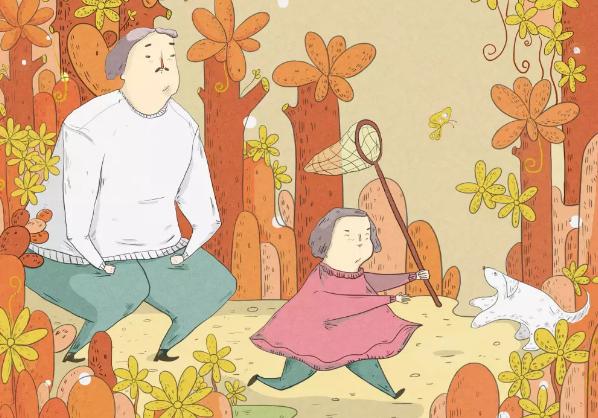 父亲节画画主题活动教案2018 爸爸的模样幼儿园活动流程。
