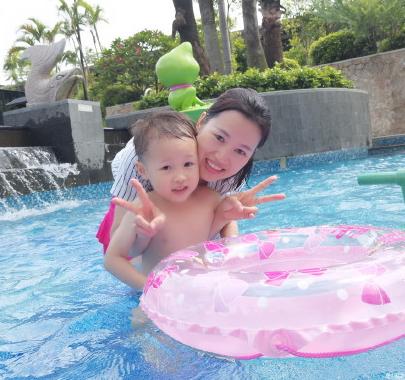 宝宝第一次游泳语录 宝宝第一次游泳的说说句子