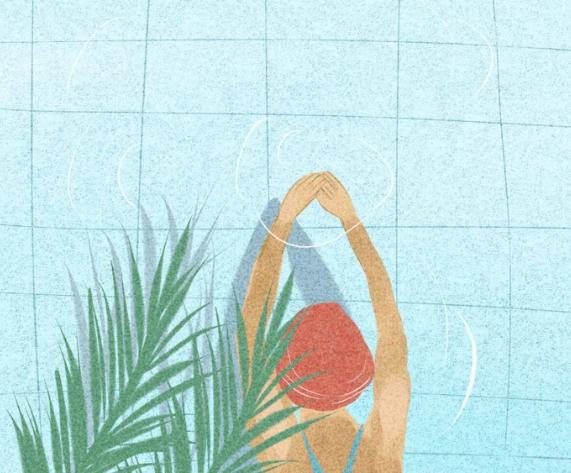 朋友圈怎么发游泳句子 夏天游泳一句话发圈朋友心情短语
