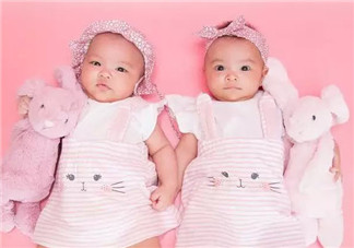 熊黛林双胞胎女儿正面照 熊黛林双胞胎女儿一个像爸一个像妈