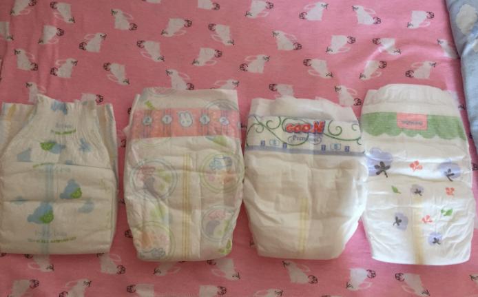 泰迪熊/日本花王/大王天使/宝松怡纸尿裤对比 宝松怡纸尿裤有荧光剂吗