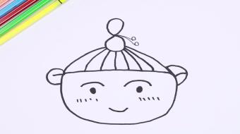 小人简笔画视频教程  数字8画小人步骤图