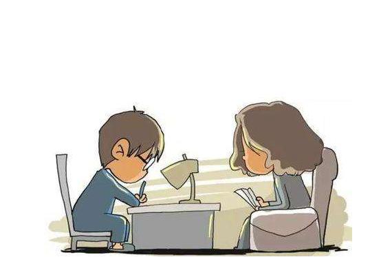 陪娃写作业竟遭遇老公扇耳光 陪娃写作业真有这么可怕吗
