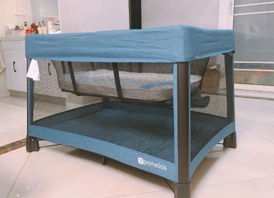 三个柚子婴儿床怎么样 三个柚子可折叠婴儿床测评