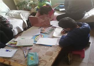 陪孩子写作业感受快疯了心情 父母陪孩子做作业图片