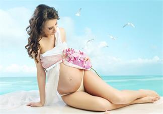 孕妇尖肚子和圆肚子图片 怎么看怀孕怀孕肚子尖还是圆