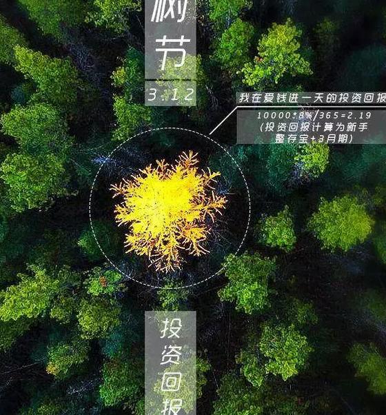 2019植树节文案海报合集  植树节文案海报汇总