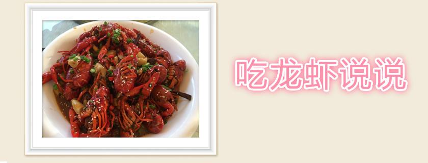 吃龙虾说说