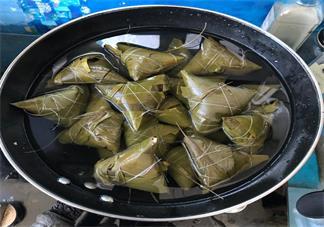关于亲手做粽子的说说 粽子包好了发表什么心情好