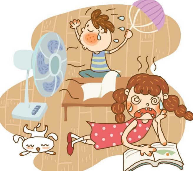为什么孩子很容易就中暑了 什么征兆表明孩子有中暑迹象