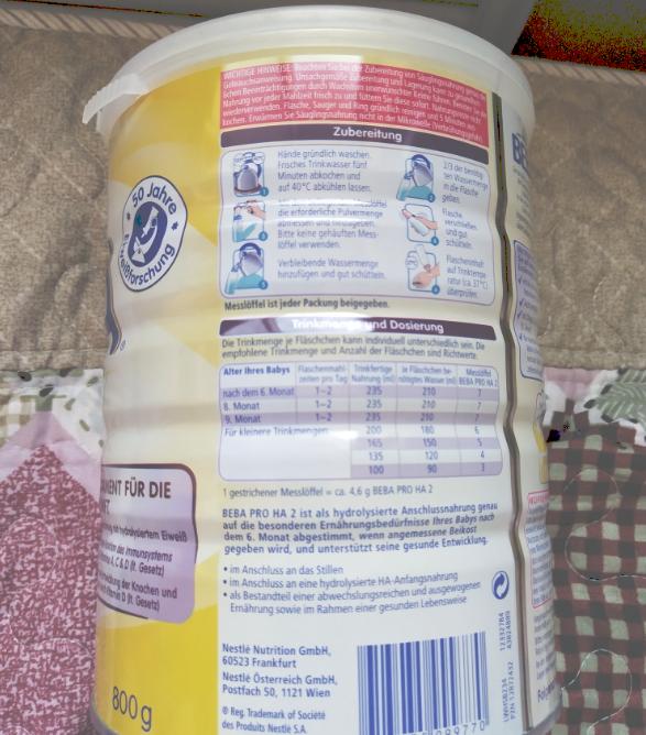 雀巢BEBA婴幼儿奶粉粉质怎么样 宝宝爱喝雀巢BEBA婴幼儿奶粉吗