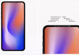苹果或在2020年发布无刘海iPhones是真的吗 苹果无刘海机长什么样