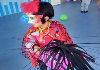 2019幼儿园万圣节化妆舞会活动现场报道 幼儿园万圣节舞会通讯稿三篇