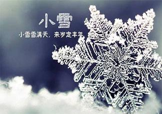 二十四节气小雪朋友圈文案说说 二十四节气小雪祝福语句子大全