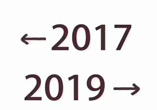 2017到2019是什么梗 2017和2019对比
