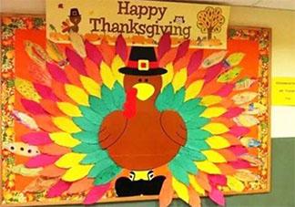 2019幼儿园感恩节环创墙布置图片大全 幼儿园感恩节环创墙内容图片