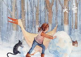 今日大雪精选暖心祝福语说说朋友圈 今日大雪的暖心微信句子大全