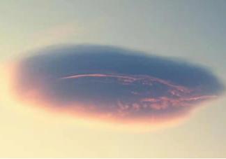 北京飞碟云高清图片大全 飞碟云形成原因