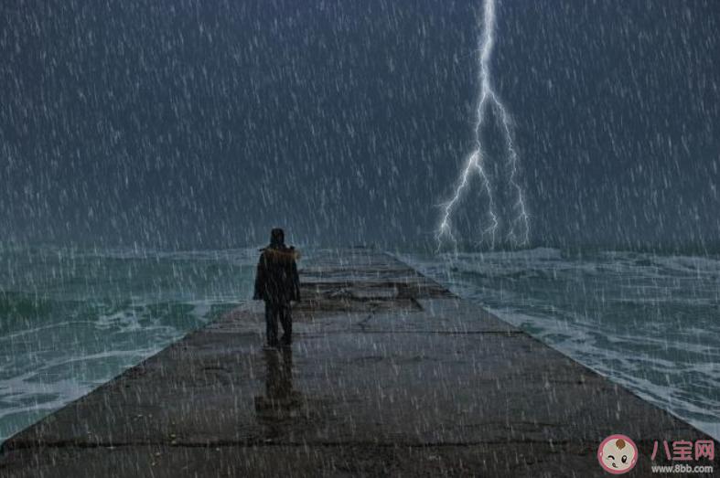 光打雷不下雨打一俗语图片