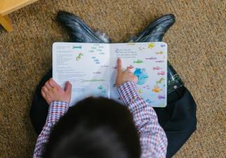 给孩子读绘本要不要指着读 指读适合多大的孩子
