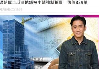 梁朝伟房产被拍卖亏600万是怎么回事 梁朝伟房产被拍卖是真的吗