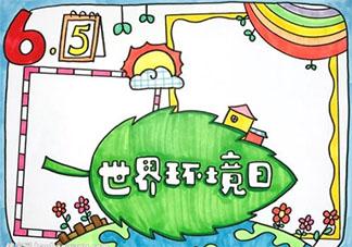 世界环境日保护环境的手抄报素材合集 世界环境日小学生手抄报大全