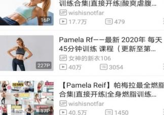 帕梅拉减肥视频在哪里可以看 帕梅拉瘦身哪个软件最清晰