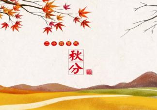 秋分节气简单一句话祝福语2020 秋分注意身体问候语