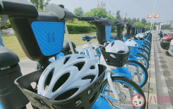 自带头盔的共享电动车是怎样的 电动车配头盔好吗