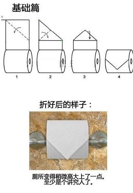 如何在如厕时科学地折纸 如厕时的科学折纸方法