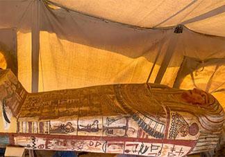 埃及新出土的27具千年古棺是哪个时期的 27具千年古棺的来历是什么