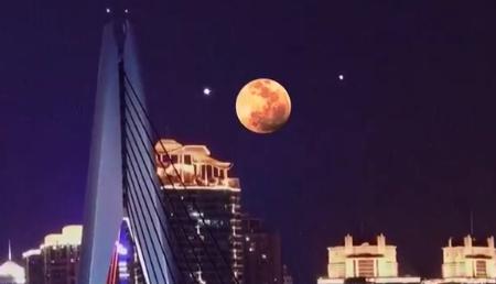 【皮看够】9月25日双星伴月什么时候出现 双星伴月怎么看