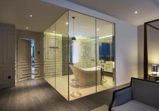酒店浴室为什么是透明的 透明浴室有什么作用