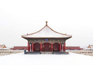 关于故宫的雪唯美说说语录 故宫的雪发朋友圈感受说说