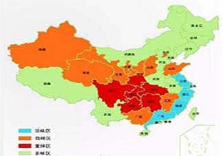 中国辣味偏好地图来了 全国各地哪些地方爱吃辣