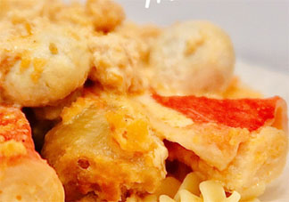 咸蛋黄蘑菇烧鸡腿怎么做 咸蛋黄蘑菇烧鸡腿教程做法介绍