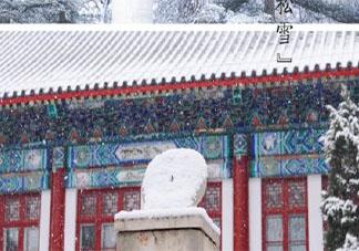 2021年北京第一场雪的朋友圈说说 2021年第一场雪来了的心情句子