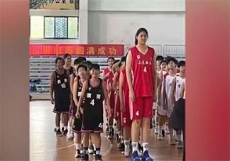 14岁女孩身高226cm追平姚明 为什么孩子十几岁就很高