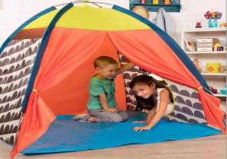 小孩子为什么这么痴迷帐篷 帐篷满足了孩子哪些心理诉求