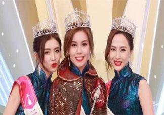 2021香港小姐出炉 前三强是谁